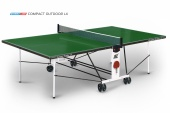 Теннисный стол Compact Outdoor LX green START LINE